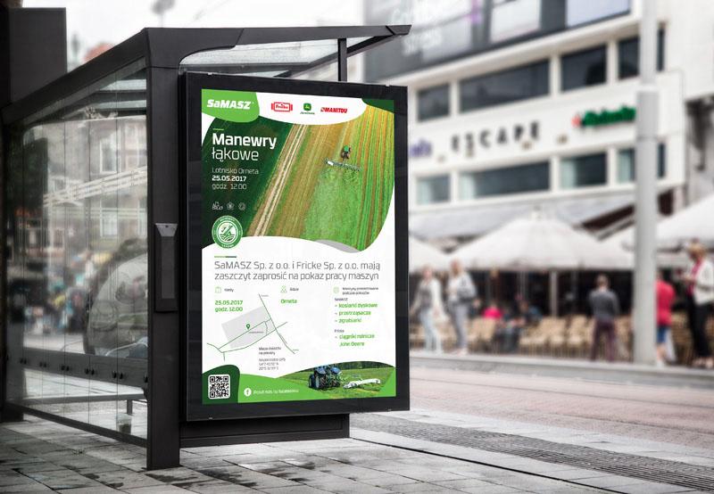 Projekt plakatów - Agencja reklamowa Białystok