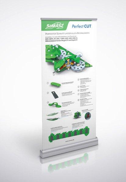 Rollupy projekty graficzne agencja reklamowa