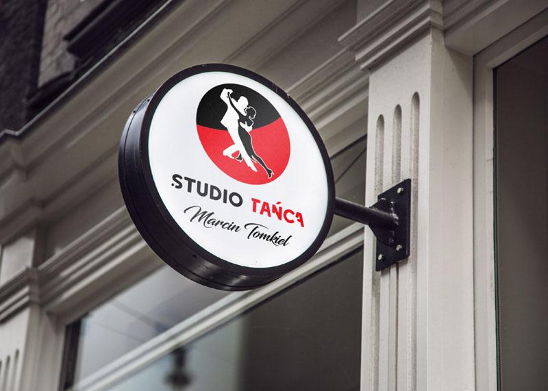 Studio tańca - Projekt logo - Białystok, Warszawa
