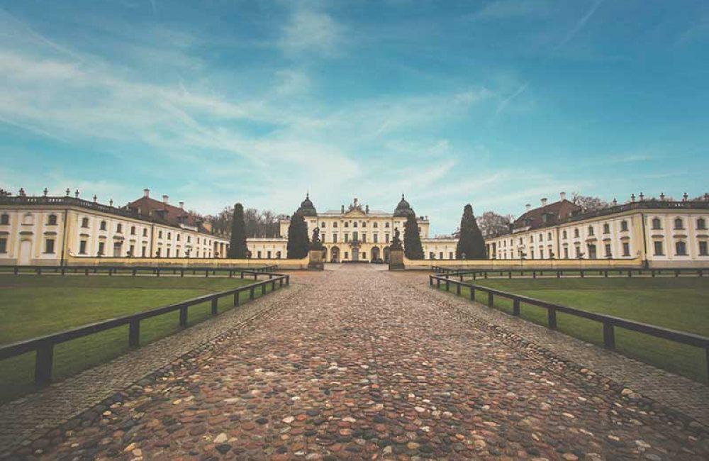 Fotografia Pałacu Branickich Białystok